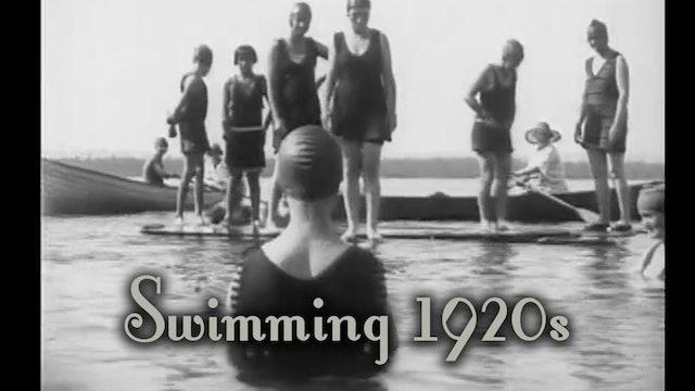 Swimming 1920s