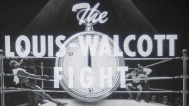 Joe Louis and Jersey Joe Wallcott fight - 1947