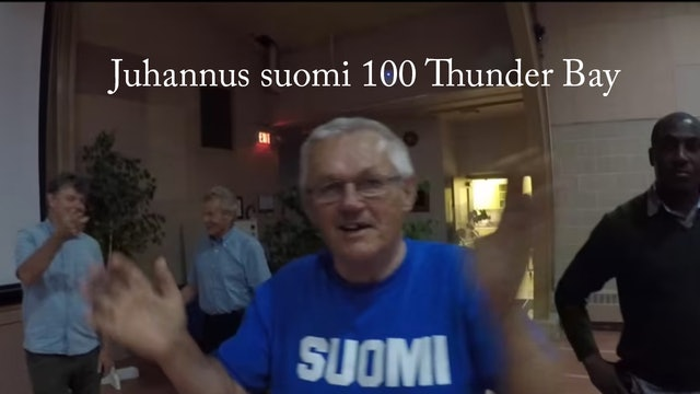 Juhannus suomi 100 Thunder Bay