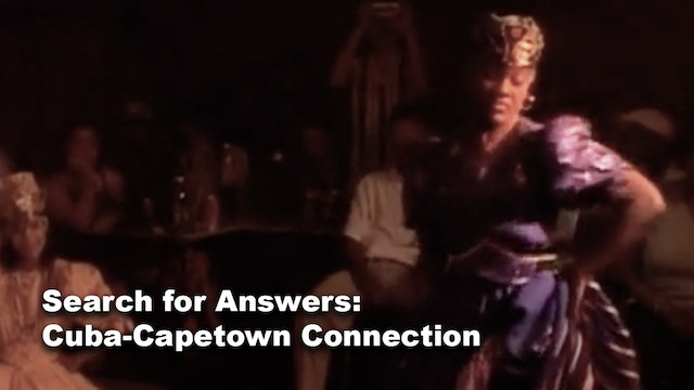 Search for Answers: Cuba-Capetown Connection