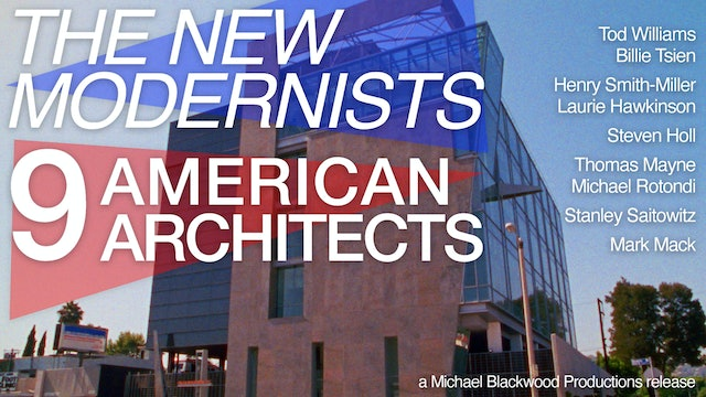 The New Modernists 9 American Architects