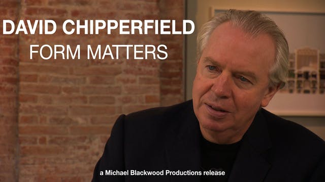 David Chipperfield Form Matters