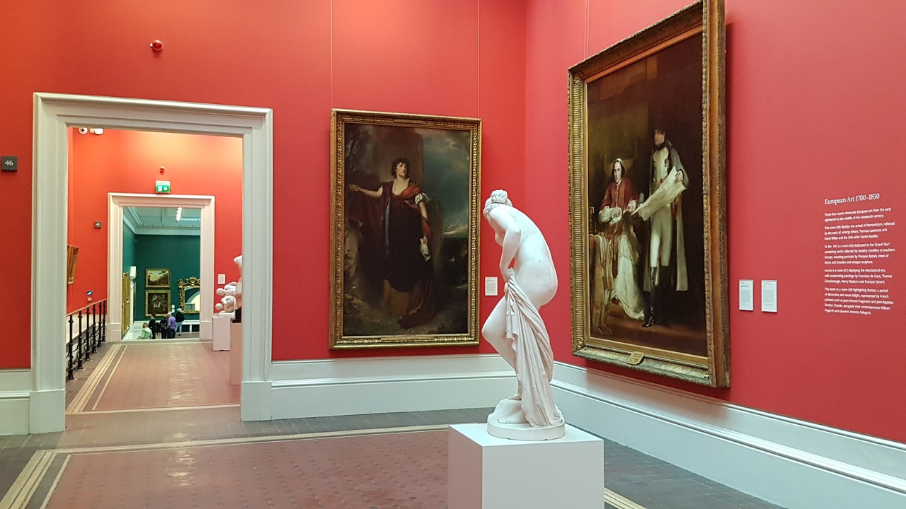 Portrait of a Gallery