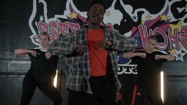 """Perfect Crime"" Intermediate Contemporary Hip-Hop with PXTN"