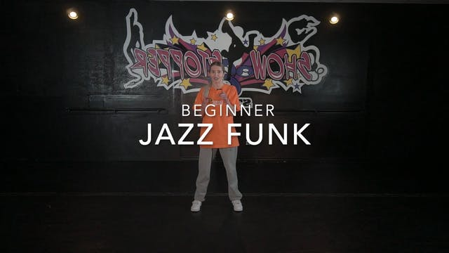 """Que Tire Pa Lante"" Beginner Jazz Funk with Melissa"