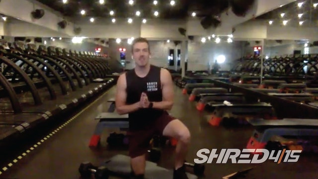 SHREDDED Chest & Tricep workout with Todd // Heavy & Medium dumbbells