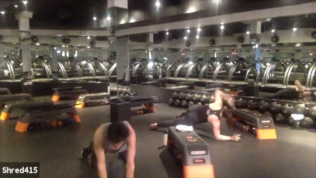INTENSE Total Body + Tread Drills with Vicky // Ankle Band & Dumbbells