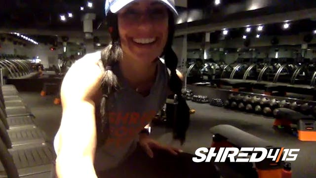 Arms & Abs Shredded Workout + Treadmi...
