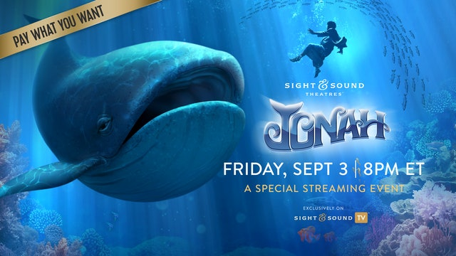 Special Event: Friday, September 3, 8PM ET