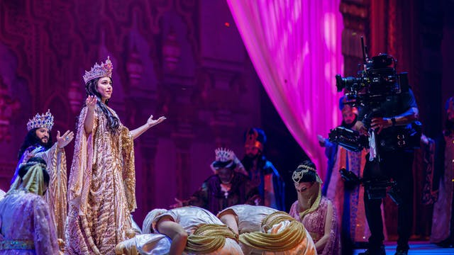 QUEEN ESTHER | Filming the Show
