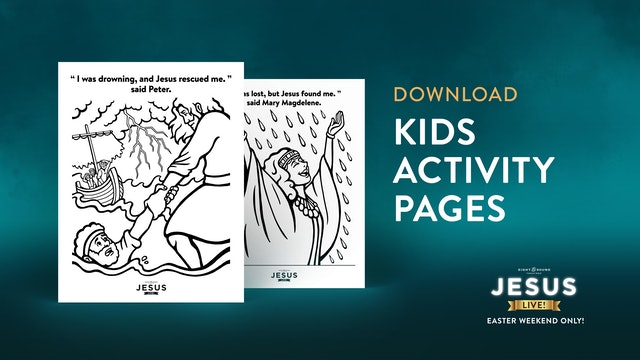 Kids Activity Pages