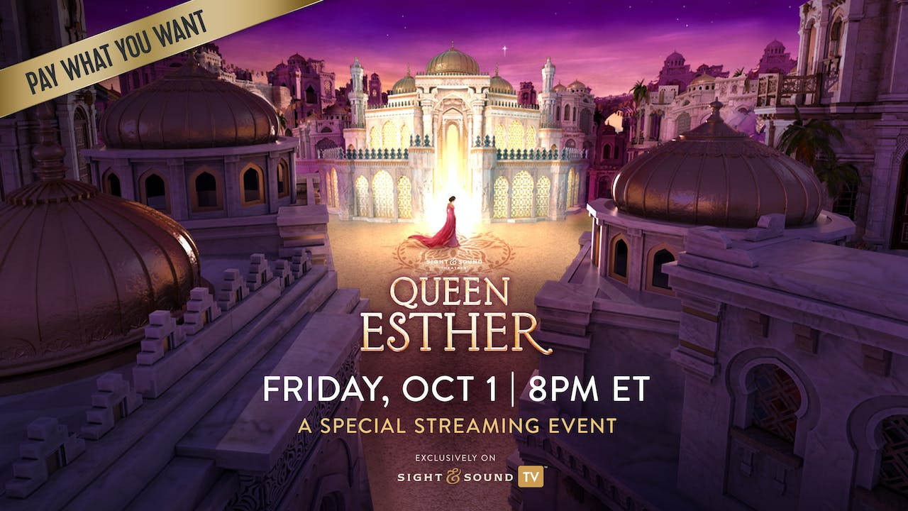 Special Event: Friday, October 1, 8PM ET