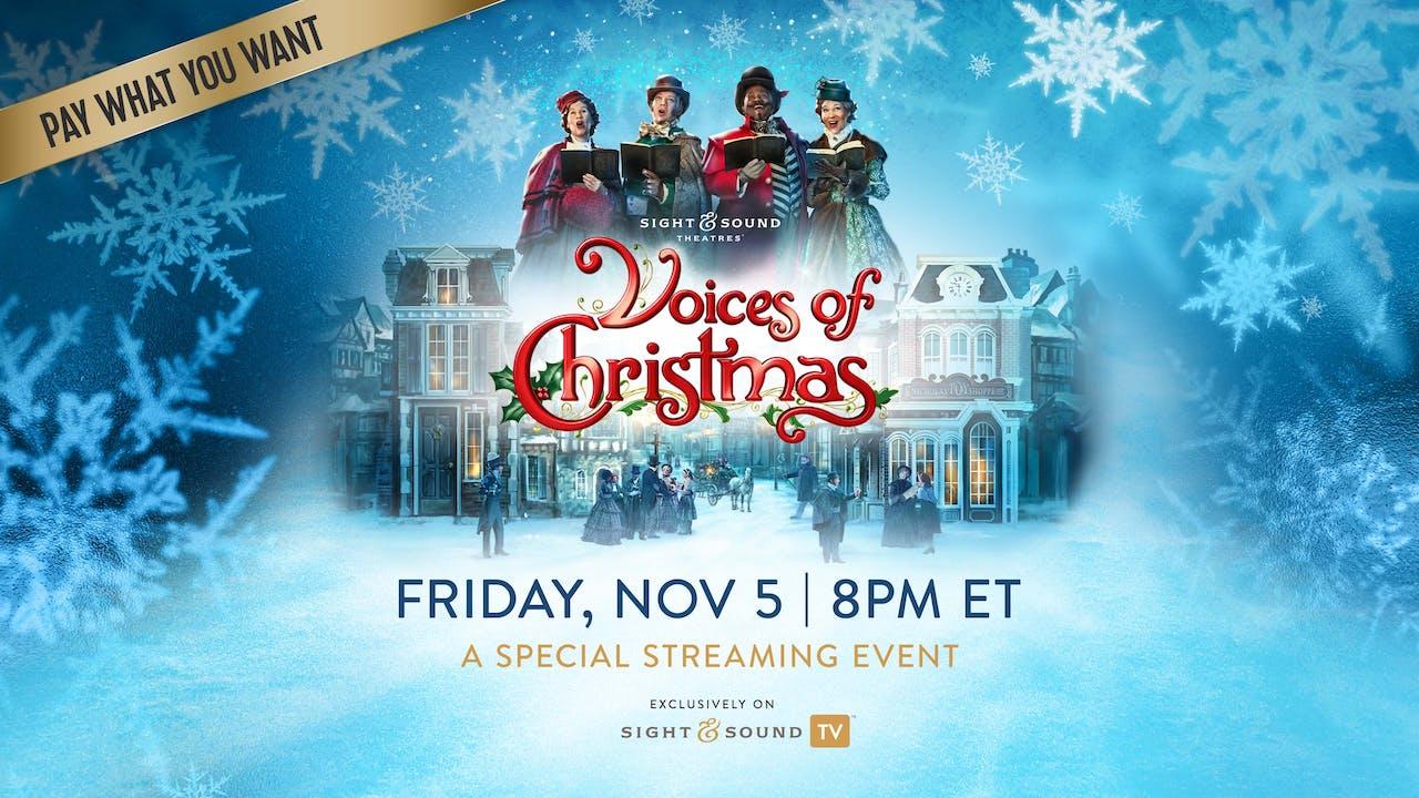 Special Event: Friday, November 5, 8PM ET