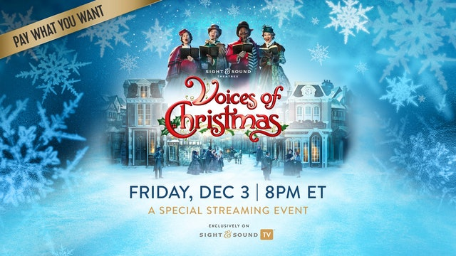 Special Event: Friday, December 3, 8PM ET