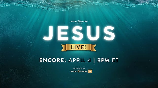 ENCORE: April 4, 8PM ET