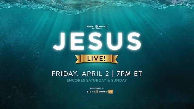 Trailer | JESUS—Live!