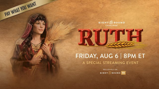 Special Event: RUTH