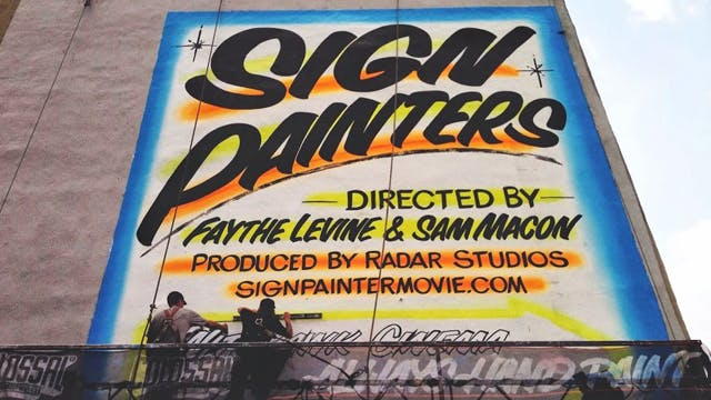 Sign Painters: Back To School Special
