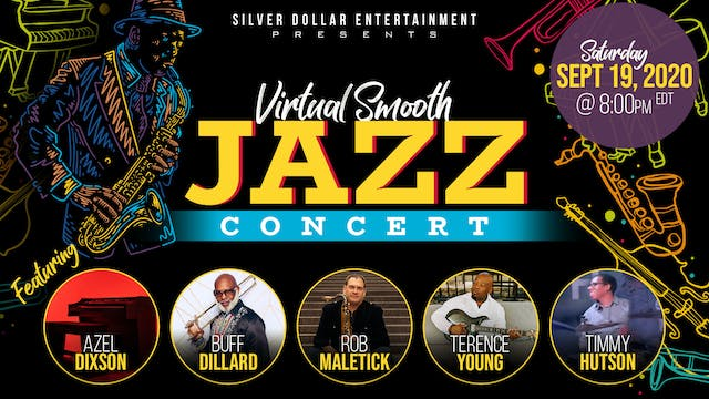 SDE  Presents Virtual Smooth Jazz Concert