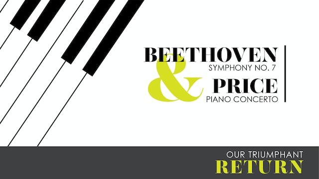Beethoven & Price   Opening Night   10.16.2021