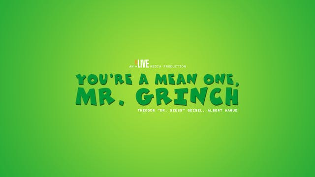 Teaser: You're a Mean One, Mr. Grinch