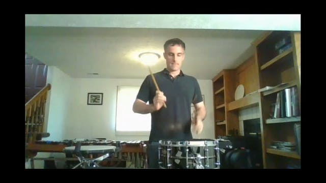 Advanced/High School Percussion Lesson