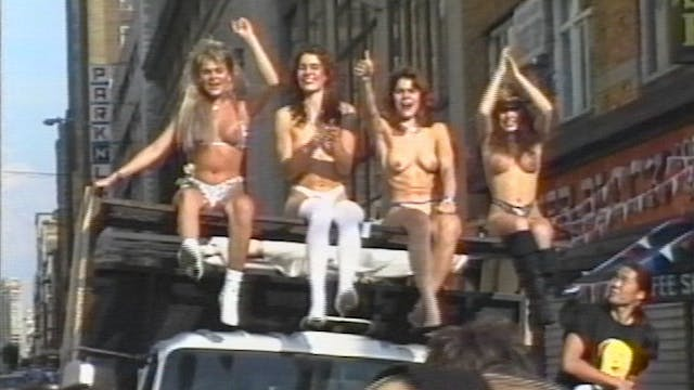 The 90s: Topless Protest