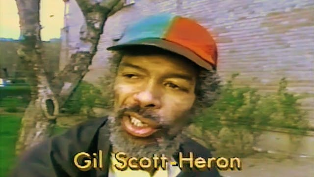 Gil Scott-Heron: Why Revolution won't be televised