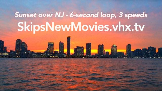Sunset over NJ 3 speeds