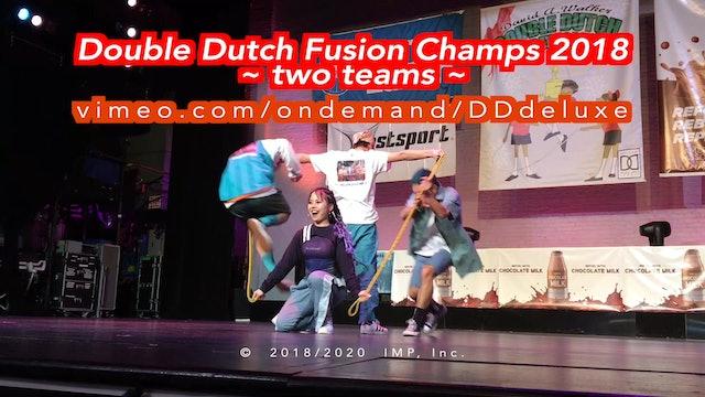 DD fusion raw champs 2018