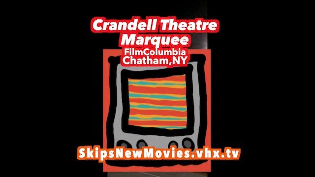 Crandell Theatre Marquee