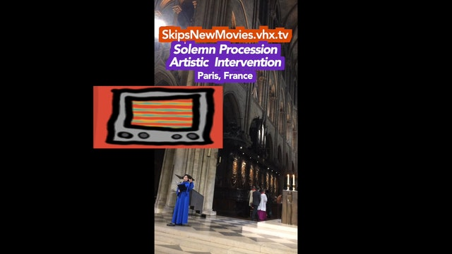 Solemn Procession Artistic Intervention