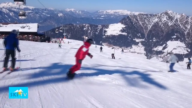 SKI TV® - Marcus - snowboard instructor from www.skischule-alpbach.at