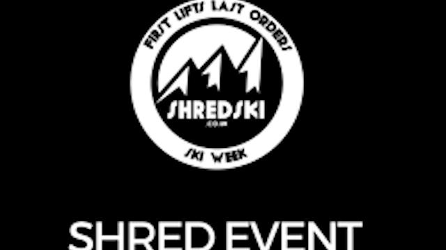 SKI TV at the Shred Indoor Ski Event ...