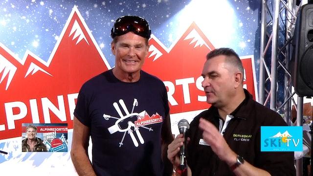 SKI TV® - Geoff Harrison interviews the Hoff - David Hasslehoff