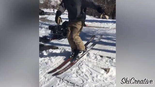 Most Creative Ski Click-In's Ever Made!