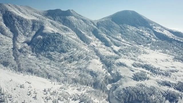 Skiing in Aomori