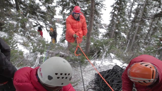 Ski Patrol _ Rope Rescue Training _ S...