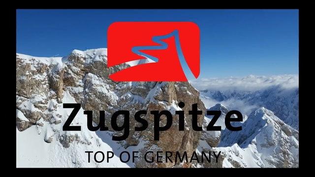 Fantastic skiing 2017. Zugspitze (Top of Germany).