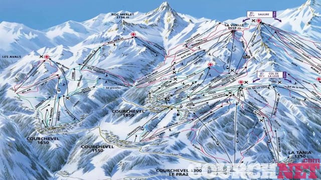 Courchevel - A Guide to the Resort