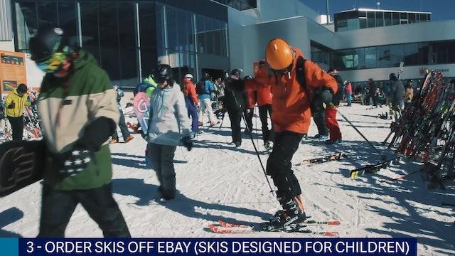 10 Mistakes Skiers Make
