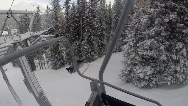 Sesselbahn Carjöl-Fuxägufer, Davos Jakobshorn