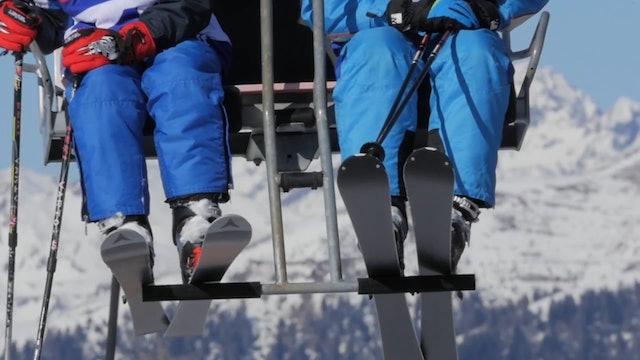 3 Zinnen Dolomites ski vibes