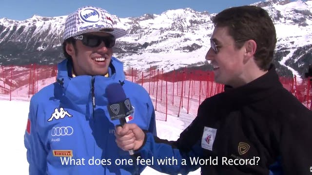254.958kph Speed Ski World Record Fas...
