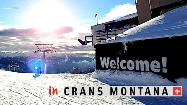 SKI TV® visiting Crans Montana