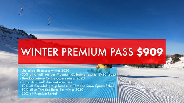 Thredbo 2020 Season Pass Sale  Now On!