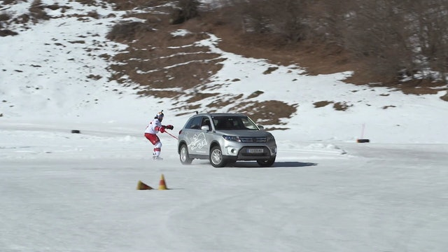 Redbull ski tow