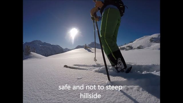 Deep snow skiing,  skiing powder basi...