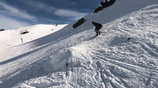 Snowboarding in New Zealand Day