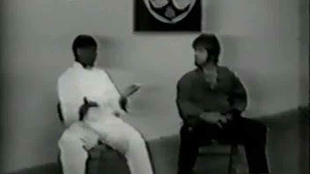 Terry Lee With Hanshi